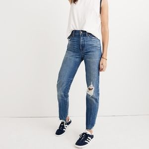 Madewell The Perfect Summer Jean (Destructed)-NEW